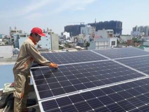 bảng giá lắp đặt hệ thống năng lượng mặt trời