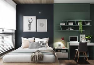 thiết kế nôj thất phòng ngủ đẹp hiện đại